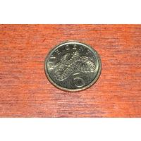 Сингапур 5 центов 1993