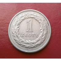 1 злотый 1991 Польша #09
