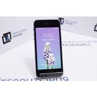 """Серый 4"""" смартфон Apple iPhone 5s 16Gb. Гарантия"""