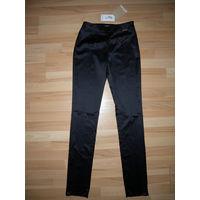Черные брюки экстравагантного итальянского бренда JOHN GALLIANO, 100 % оригинальные с голограммой подлинности