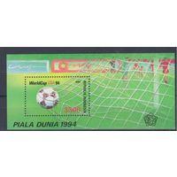 [1627] Индонезия 1994. Спорт.Футбол.Чемпионат мира. БЛОК.