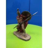 Солдатики оловянные(военно-историческая миниатюра) царь Леонид