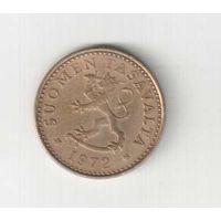 10 пенни 1972 года Финляндии
