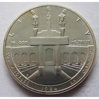 США 1 доллар 1984 XXIII летние Олимпийские Игры, Лос-Анджелес 1984 отметка монетного двора P - Филадельфия