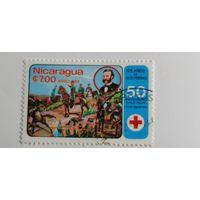 Никарагуа 1984. 50-летие Никарагуанского Красного Креста