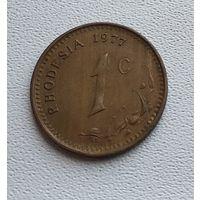 Родезия 1 цент, 1977 7-12-19