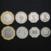 Сьерра Леоне набор 4 монеты 1996-2004 UNC