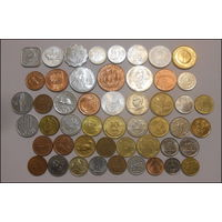 Монеты мира из журнала Монеты и банкноты