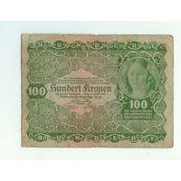 Австрия, 100 крон 1922 год.