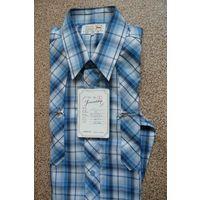 Мужская рубашка, р. 41 (куплена в Германии). Новая-приновая!