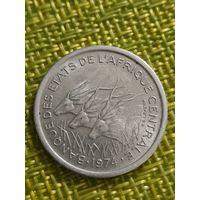 Центрально Африканские Штаты 1 франк 1974 г