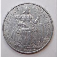 Французская Полинезия 5 франков 1994 г