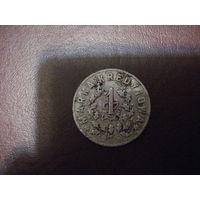 1 злотый (кредитная марка) 25 уланского полка Войска польского. Пружаны.