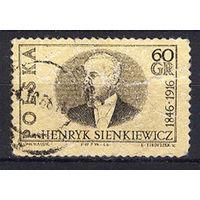 1966 Польша. Генрих Сенкевич - польский писатель
