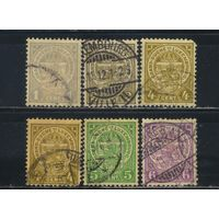 Люксембург 1907 Герб Стандарт #84-88