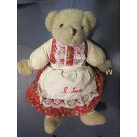 Медведь Медведица плюшевая 60-е. Эксклюзив!!!