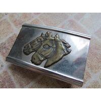 Пряжка СССР лошади