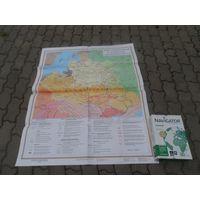 """Карта"""" Речь Посполитая в конце 16- середине 18 в"""""""