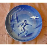 Олимпиада 1972 Мюнхен  тарелка настенная