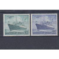 [680] Германия Берлин 1955.Корабль.