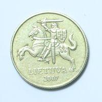Литва, 20 центов 2007 год