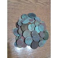 Монеты 250 шт с рубля