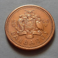 1 цент, Барбадос 1996 г.