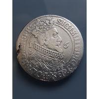 ОРТ 1623 (1) СИГИЗМУНД III (1587-1632),Гданьск,Польша, С 1 РУБЛЯ
