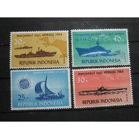 Корабли, транспорт, флот военная техника марки Индонезия