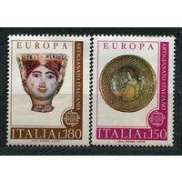 Прикладное искусство. Европа CEPT. Италия. 1976. Полная серия 2 марки. Чистые