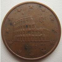 Италия 5 евроцентов 2002 г.
