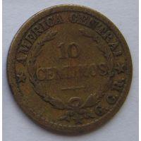 Коста Рика 10 сентимо 1921