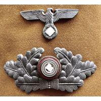 Полный комплект кокард на фуражку НСДАП Германия третий рейх