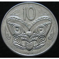 Новая Зеландия 10 центов 1982 (156)