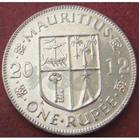 5872:  1 рупия 2012 Маврикий