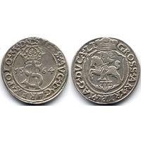 Трояк 1564, Жигимонт Август, Вильно. Окончание легенд - L/LI