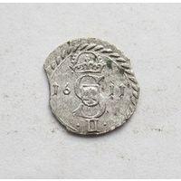 Сигизмунд lll Ваза Двойной денарий 1611 R-1