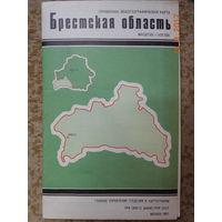 Карта Брестская область