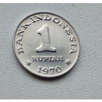 Индонезия 1 рупия, 1970 7-2-12