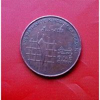 89-02 Иордания, 1 кирш 2000 г.