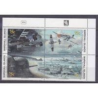 1994 Маршалловы острова 517-520VB I Самолеты 8,50евро