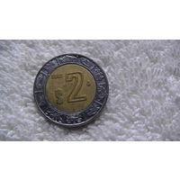 Мексика 2 песо 2002г. биметалл. распродажа