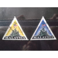 Малайзия 1966 Памятник, гос. флаг Полная серия