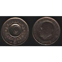Норвегия km427 10 крон 1986 год (f50)nr0(ks00)