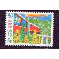 Швейцария. Ретийская железная дорога