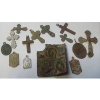 Иконка, медальоны, крестики. Старт с 1 рубля.