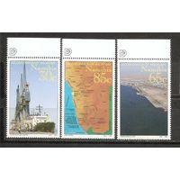 Намибия 1994 Порт Корабли