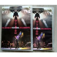 DVD. Peter Gabriel. Still Growing Up. Live & Unwrapped. /2шт./