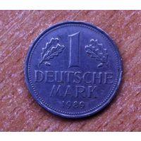 1 марка 1989 (D). ФРГ. Германия