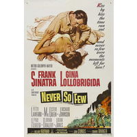 Так мало никогда / Never So Few ( DVD5)(Фрэнк Синатра,Джина Лоллобриджида)